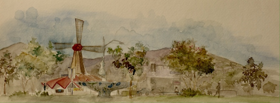 Sketches of Arcadia Park